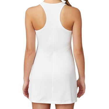 Fila White Line Call Dress Womens White TW015332 100