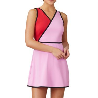 Fila 30 Love Dress Womens Cyclamen/Crimson TW015467 961