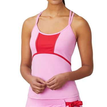 Fila 30 Love Cami Tank Womens Cyclamen/Crimson TW015469 961