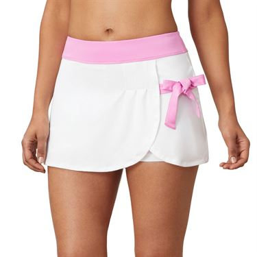 Fila 30 Love Side Tie Skirt Womens White/Cyclamen TW015472 100
