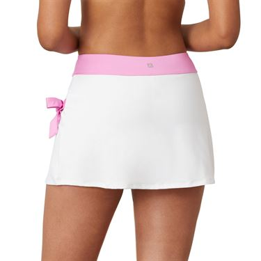 Fila 30 Love Side Tie Skirt Womens White/Cyclamen TW015472 100