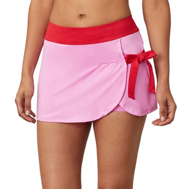 Fila 30 Love Side Tie Skirt Womens Cyclamen/Crimson TW015472 961