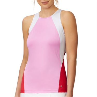 Fila 30 Love Full Coverage Tank Womens Cyclamen/Crimson TW015473 961