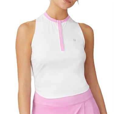 Fila 30 Love Tie Up Racerback Tank Womens Cyclamen/Crimson TW015476 961