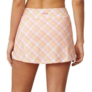 Fila Mad For Plaid Printed A Line Skirt