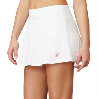 Fila Mad For Plaid Flare Skirt Womens White TW015551 100