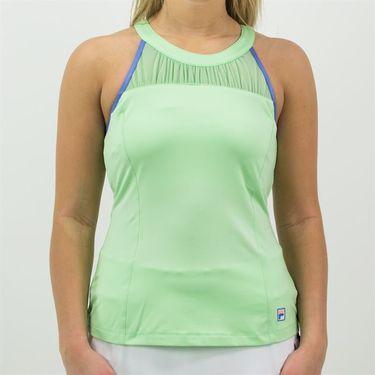 Fila Colorful Play Racerback Tank Womens Green Ash/Amparo Blue TW015555 378