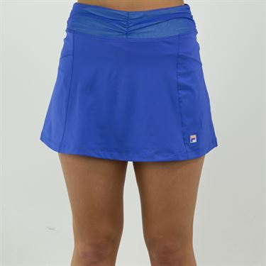 Fila Colorful Play Flare Skirt Womens Amparo Blue/Green Ash TW015561 499