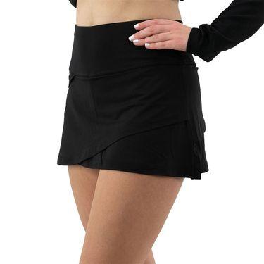 Fila Essentials Tiered Skirt Womens Black TW016439 001