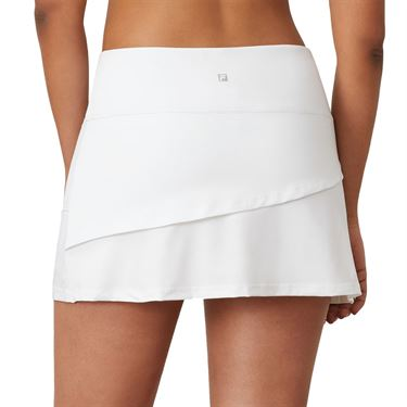 Fila Essentials Tiered Skirt Womens White TW016439 100