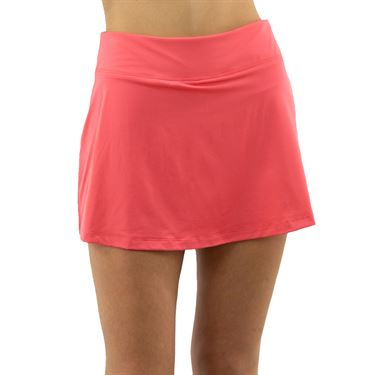 Fila Mad For Plaid A Line Skirt Womens Calypso Coral TW017896 679