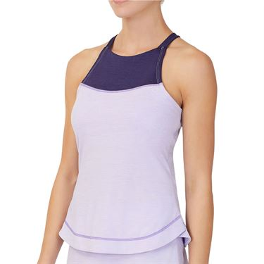 Fila Back Court Halter Tank Womens Purple TW036888 532