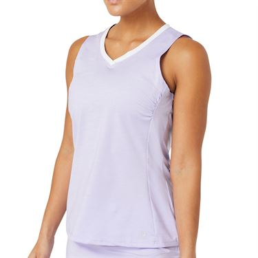 Fila Back Court Full Coverage Tank Womens White/Purple TW036889 532