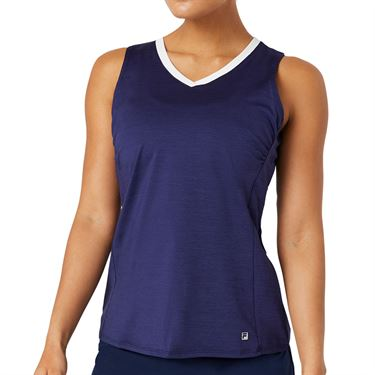 Fila Back Court Full Coverage Tank Womens Marlin Heather TW036889 557