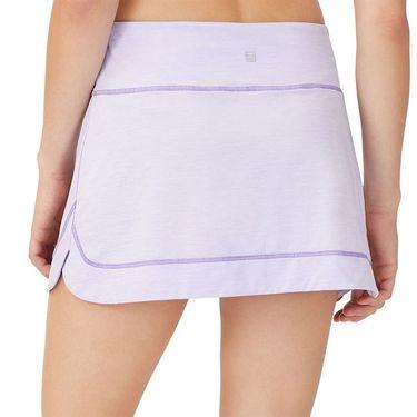 Fila Back Court A Line Skirt Womens White/Purple TW036891 532