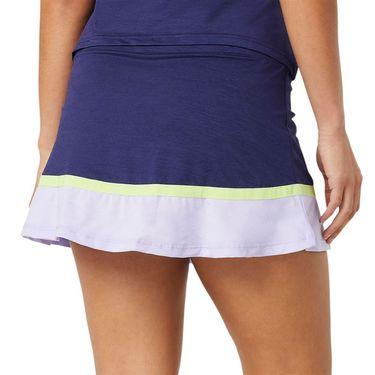 Fila Back Court Flare Skirt Womens Purple TW036892 557