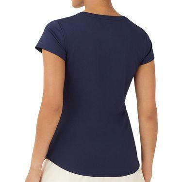 Fila Essentials Short Sleeve Top Womens Peacoat TW036912 412