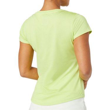 Fila Essentials Short Sleeve Top - Wild Lime