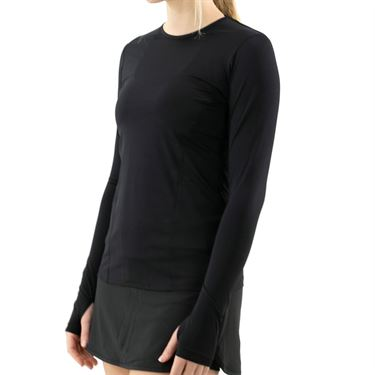 Fila UV Blocker Long Sleeve Top Womens Black TW039911 001
