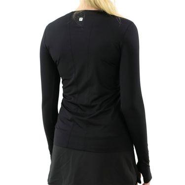 Fila UV Blocker Long Sleeve Top Womens Black TW039911 001