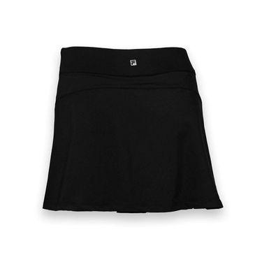 Fila Long Vented Skirt -Black