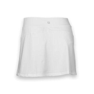 Fila Long Vented Skirt -White