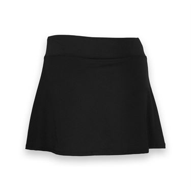 Fila Core Long Flirty Skirt - Black