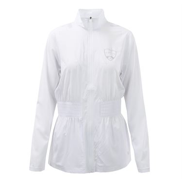 Fila Western & Southern Open Smocked Womens Jacket - White