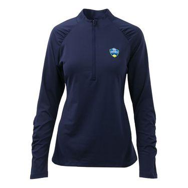 Fila Womens Half Zip Pullover - Navy