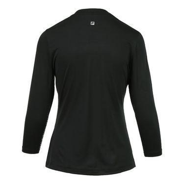 Fila Spotlight Jacket - Black/Lime Tonic