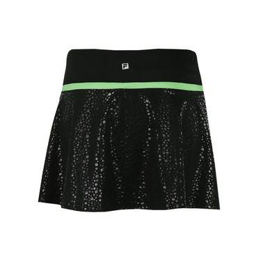 Fila Spotlight Flirty Skirt - Black/Lime Tonic