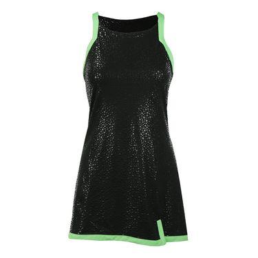 Fila Spotlight Dress - Black/Lime Tonic