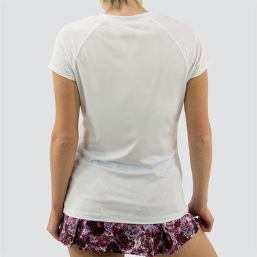 Fila Spotlight Set Short Sleeve Top Womens White TW171UG6 100