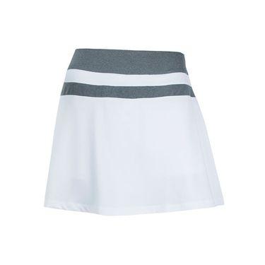 Fila Game Day Flirty Skirt - White/Charcoal Heather