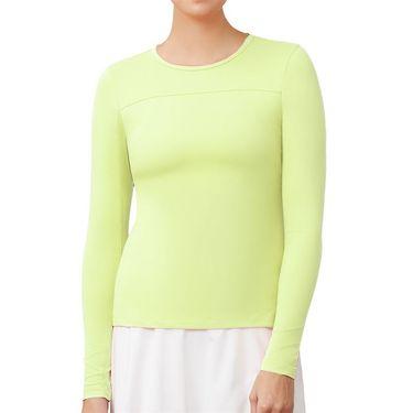 Fila UV Blocker Long Sleeve Top - Sharp Green