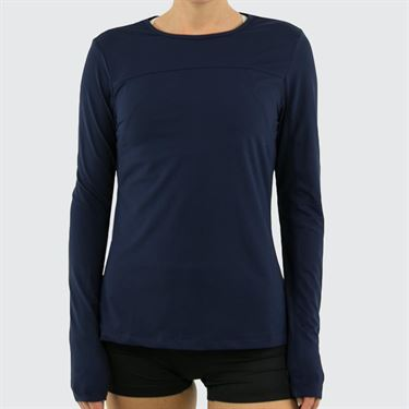 Fila UV Blocker Long Sleeve Top Womens Navy TW173WN7 412
