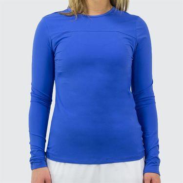 Fila Colorful Play UV Blocker Long Sleeve Top Womens Amparo Blue/Green Ash TW173WN7 499