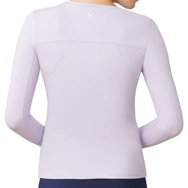 Fila UV Blocker Long Sleeve Top Womens Pastel Lilac TW173WN7 591