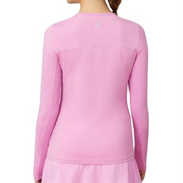 Fila Essentials UV Blocker Long Sleeve Top Womens Cyclamen TW173WN7 961