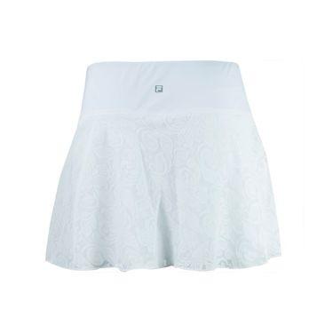 Fila The Championships Flounce Skirt - White