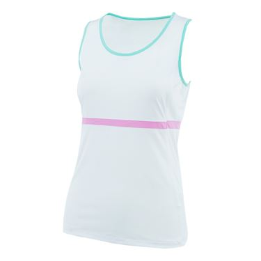 Fila Elite Full Coverage Tank - White/Lilac/Ice Green