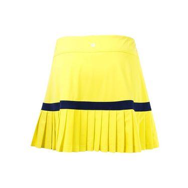 Fila Argyle Pleated Back 14.5 Inch Skirt - Aurora/Navy