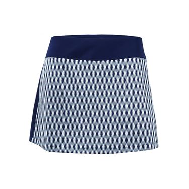 Fila Argyle Team 13.5 Inch Skirt - Navy Argyle/Navy