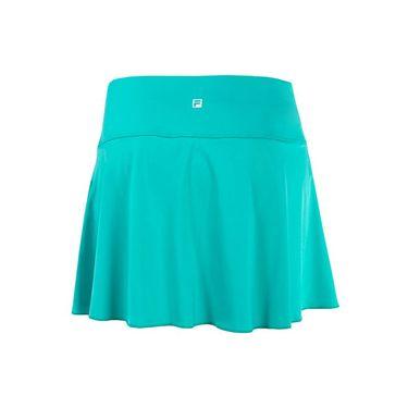 Fila Windowpane Flirty Skirt - Atlantis