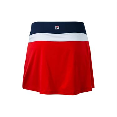 Fila Heritage Colorblocked Skirt 14.5 inch - Red/Navy/White