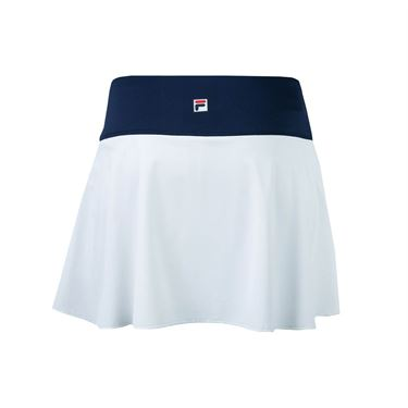 Fila Heritage Flirty Skirt 13.5 inch - White/Navy