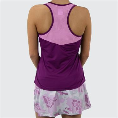 Fila Love Actually Element Tank - Amaranth/Acid Orchid/White