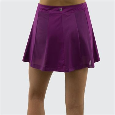 Fila Love Actually Panel Skirt 14.5 in - Amaranth