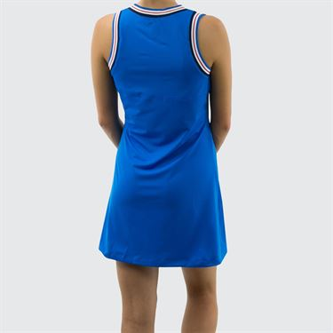 Fila Heritage Dress - Electric Blue/White