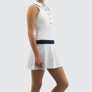 1f23fd0cca Fila Heritage Polo Dress, TW191722 100 | Women's Tennis Apparel